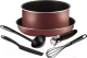Набор кухонной посуды Tefal Ingenio Red 4154840 -