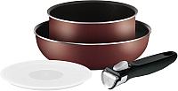 Набор кухонной посуды Tefal Ingenio Red 4162830 -