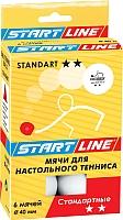 Мячи для настольного тенниса Start Line Standart 2 23-122 -