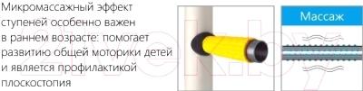 Детский спортивный комплекс Romana Next 3/S3 ДСКМ-3С-8.06.Г1.490.01-28 (красный/желтый)