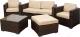 Комплект садовой мебели Sundays JS-S-8026 -