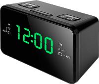 Радиочасы TeXet TRC-321 (черный) -