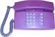 Проводной телефон Мажор Сигно-201 (фиолетовый) -