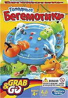 Настольная игра Hasbro Голодные бегемотики B1001 (дорожная) -