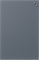 Магнитно-маркерная доска Naga Grey 10510 (40x60) -