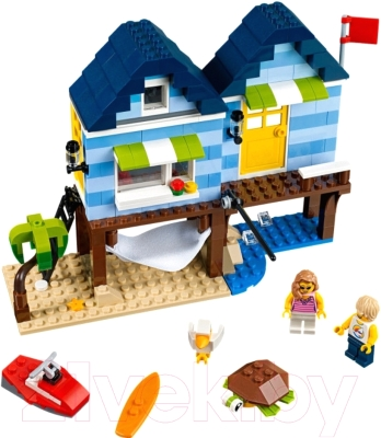 Конструктор Lego Creator Отпуск у моря 31063
