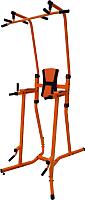Турник-брусья Формула здоровья Статика (оранжевый/черный) -