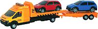 Масштабная модель автомобиля AutoTime Эвакуатор Recovery Truck Long 48740 -
