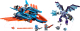 Конструктор Lego Nexo Knights Самолёт-истребитель «Сокол» Клэя 70351 -