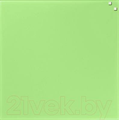 Магнитно-маркерная доска Naga Light Green 10750 (45x45)