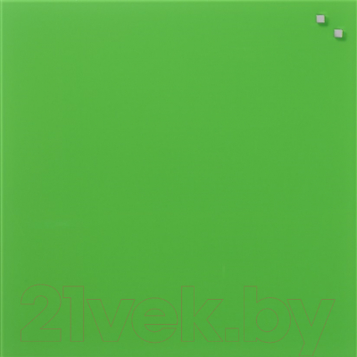 Магнитно-маркерная доска Naga Strong green 10752 (45x45)