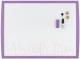 Магнитно-маркерная доска Rexel Joy 2104178 (430x585, фиолетовый) -