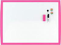 Магнитно-маркерная доска Rexel Joy 2104177 (430х585, розовый) -