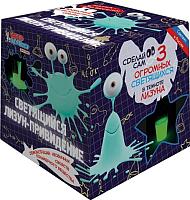 Набор для опытов Qiddycome Светящийся лизун-привидение X011 -