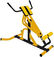 Тренажер для мышц спины Формула здоровья Эстетика (желтый/черный) -
