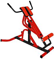 Тренажер для мышц спины Формула здоровья Эстетика (красный/черный) -