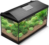 Аквариумный набор Aquael Set Leddy Plus 114527 (черный) -
