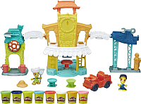 Набор для лепки Hasbro Play-Doh Город - Главная улица B5868 -