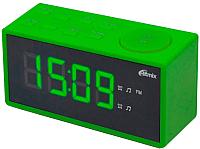 Радиочасы Ritmix RRC-1212 (зеленый) -