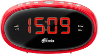 Радиочасы Ritmix RRC-616 (красный) -