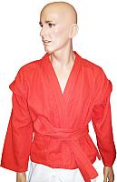 Куртка для самбо Ronin F039 (размер 52, красный) -