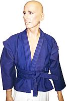 Куртка для самбо Ronin F039 (размер 52, синий) -
