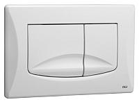 Кнопка для инсталляции Oliveira & Irmao River Dual (белый) -
