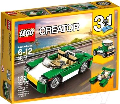 Конструктор Lego Creator Зеленый кабриолет 31056