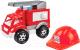 Детская игрушка ТехноК Малыш-пожарный 3978 -
