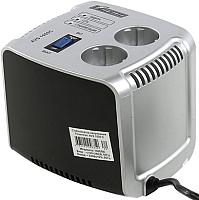 Стабилизатор напряжения PowerMan AVS 1000C (серебристый) -