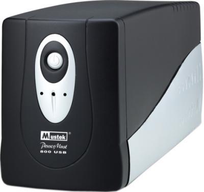 ИБП Mustek PowerMust 800 USB - общий вид
