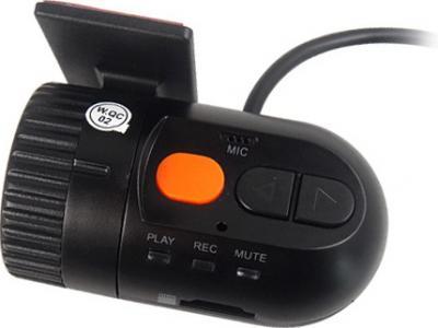 Автомобильный видеорегистратор Recordeye DC750 - вид сзади