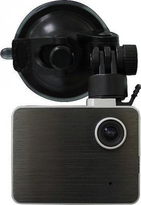 Автомобильный видеорегистратор Recordeye DC850 - общий вид с креплением