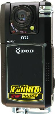 Автомобильный видеорегистратор DOD F980LS - фронтальный вид