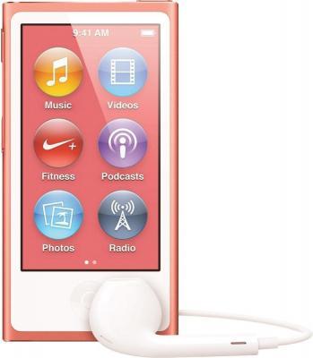MP3-плеер Apple iPod nano 16Gb MD475QB/A (розовый) - общий вид