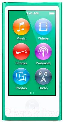 MP3-плеер Apple iPod nano 16Gb MD478QB/A (зеленый)