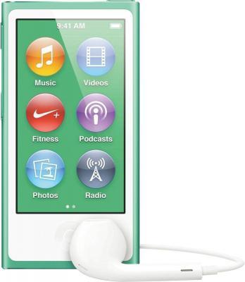 MP3-плеер Apple iPod nano 16Gb MD478QB/A (зеленый) - вид спереди