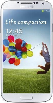 Смартфон Samsung Galaxy S4 16Gb / I9500 (белый) - общий вид