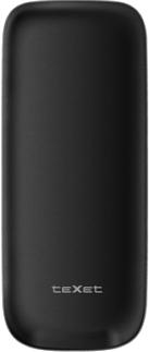Мобильный телефон TeXet TM-D107 Black - задняя панель