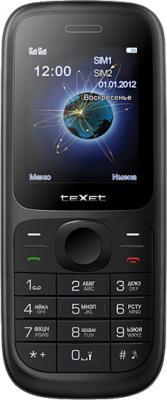 Мобильный телефон TeXet TM-D107 Black - общий вид