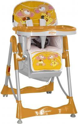 Стульчик для кормления Lorelli Primo Orange Mice - общий вид