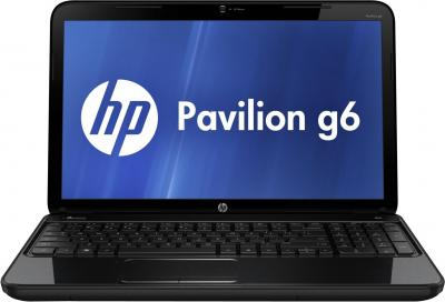 Ноутбук HP Pavilion g6-2377sr (D8P46EA) - фронтальный вид
