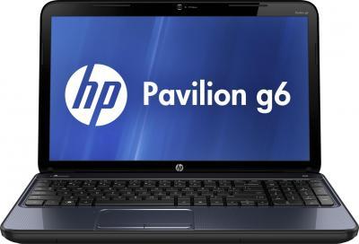 Ноутбук HP Pavilion g6-2333sr (D3D88EA) - фронтальный вид