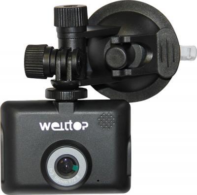 Автомобильный видеорегистратор Welltop DWR-690 - фронтальный вид