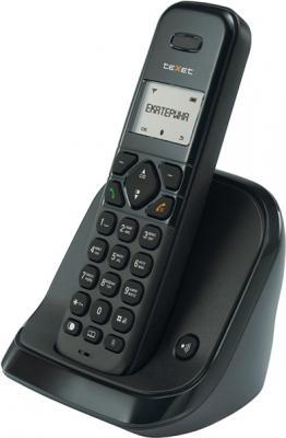 Беспроводной телефон TeXet TX-D4650 Black - вид сбоку