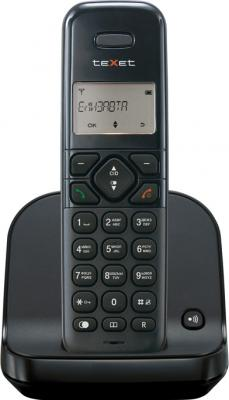 Беспроводной телефон TeXet TX-D4650 Black - вид спереди