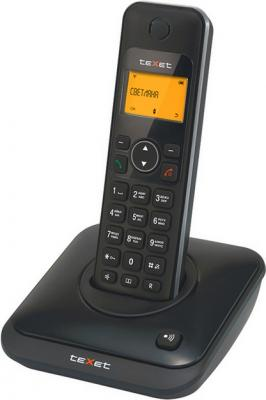 Беспроводной телефон TeXet TX-D6105A Black - вид сбоку