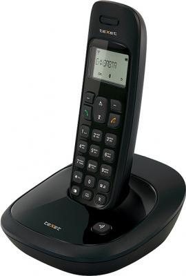 Беспроводной телефон TeXet TX-D6205A Black - вид сбоку