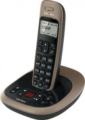 Беспроводной телефон TeXet TX-D6255A Black-Bronze - вид сбоку