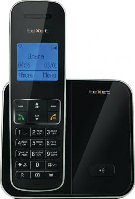 Беспроводной телефон TeXet TX-D6305A Black - вид спереди